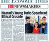 Siddhant Gill, Nandini Viswanathan and Vedant from Naarad on The Economic Times