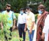 Anil Kapoor, Dr.Aneel Kashi Murarka and Anusha Srinivasan Iyer at BMC's Be A Tree Parent MEGA Vriksha Campaign